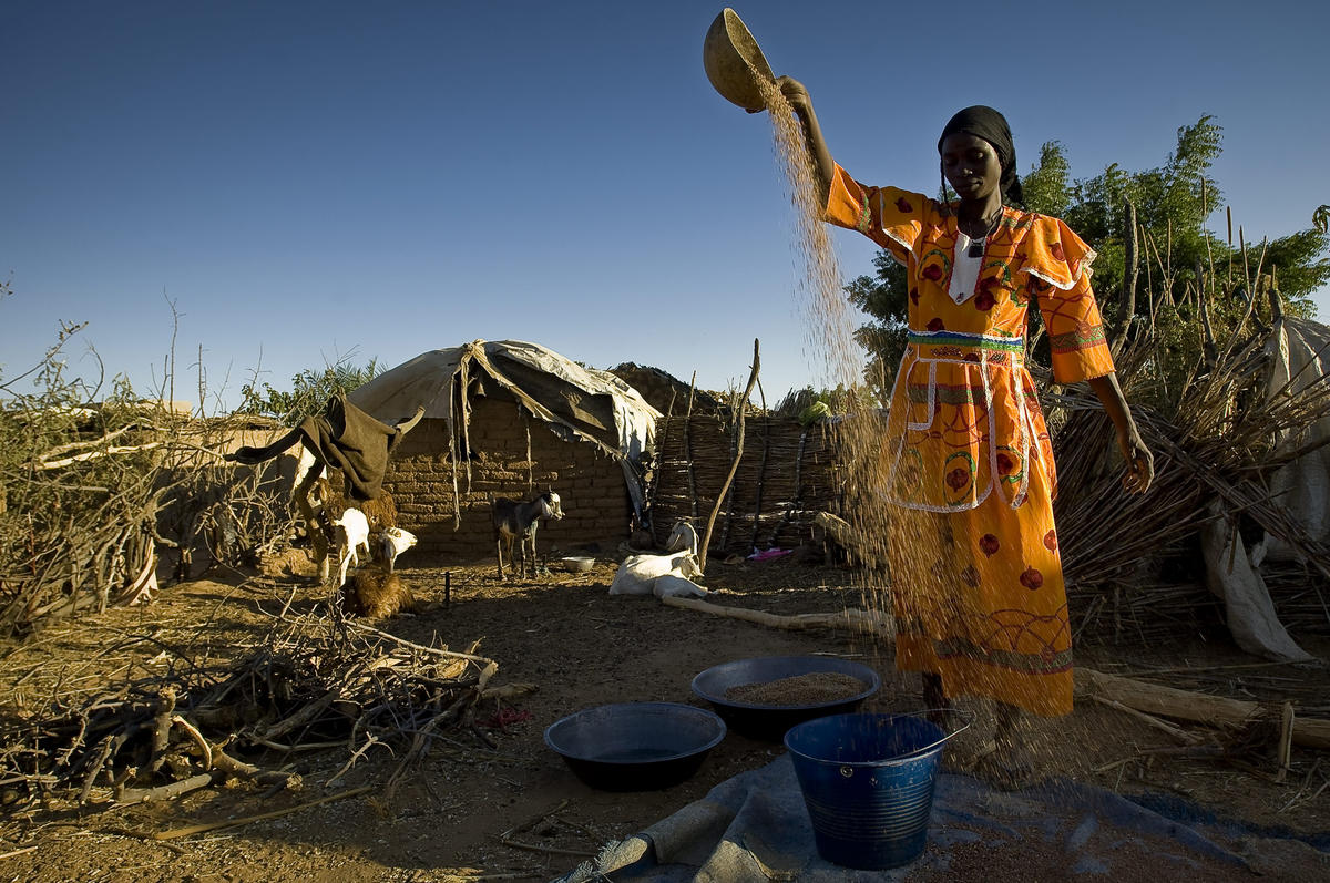Darfurians refugees in Eastern Chad Photo by European Commission via Flickr Creative Commons