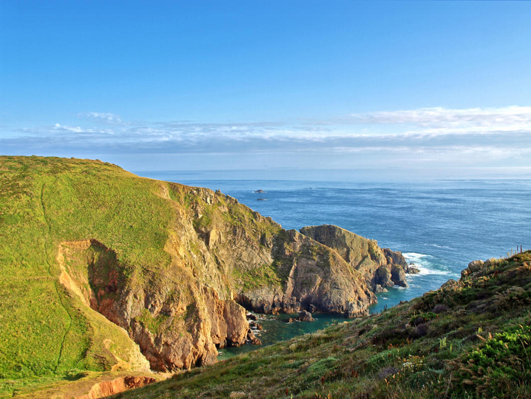 Alderney Cliffs Photo by Neil Howard via Flickr Creative Commons