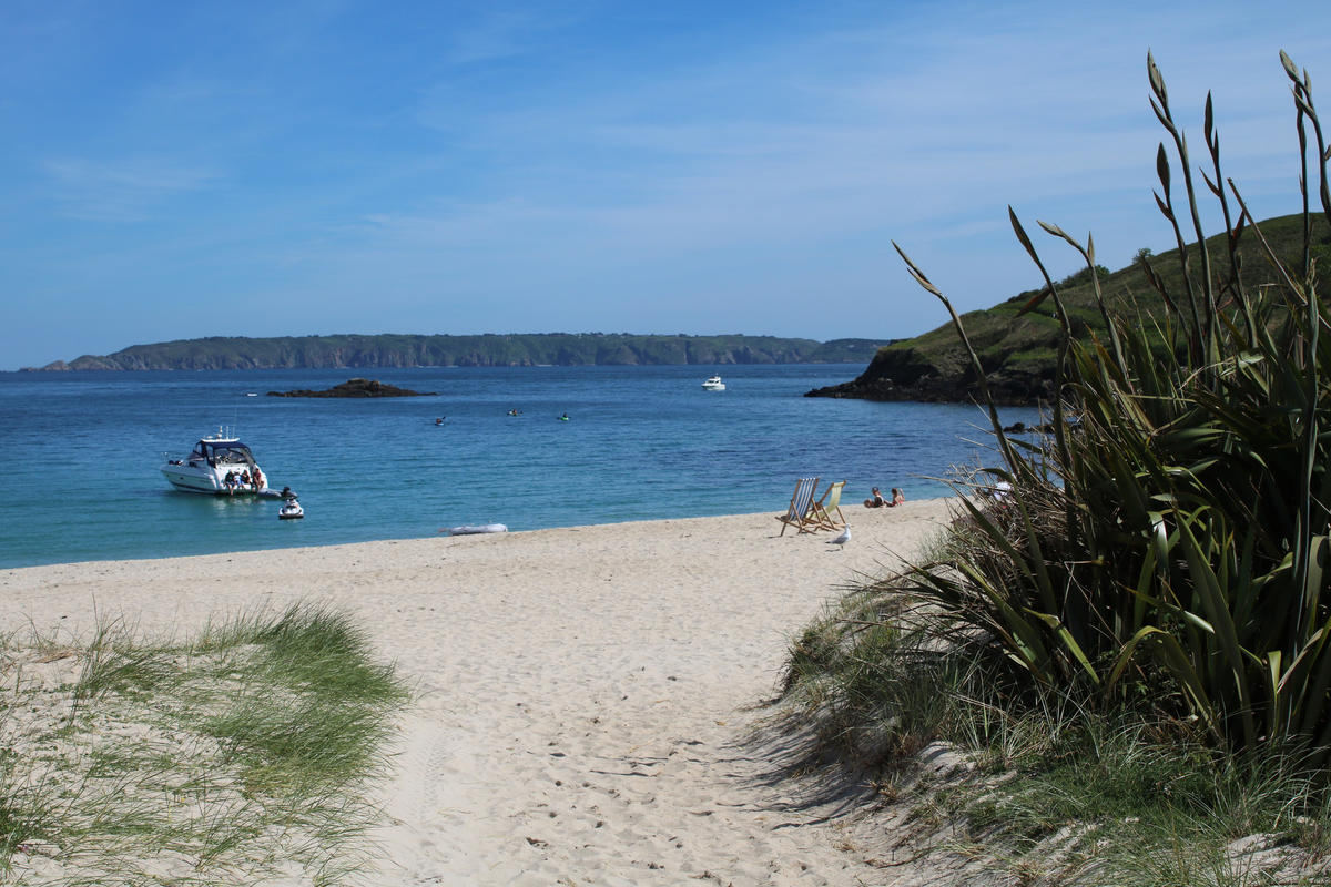 Shell Beach, Herm Photo by Tanya Hart via Flickr Creative Commons