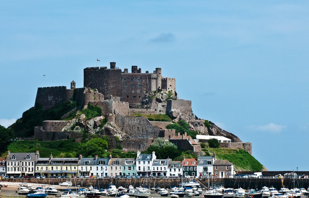 Mont Orgueil Photo by Claire Brownlow via Flickr Creative Commons