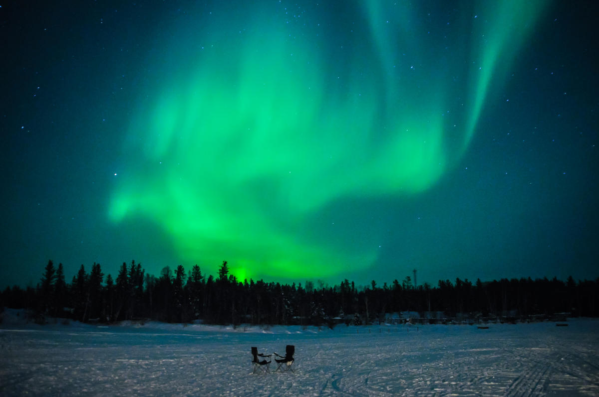Aurora Borealis Photo by Joon Im via Flickr Creative Commons