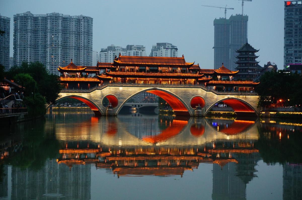 Veranda Bridge Restaurant, Chengdu Photo by Andrew Smith