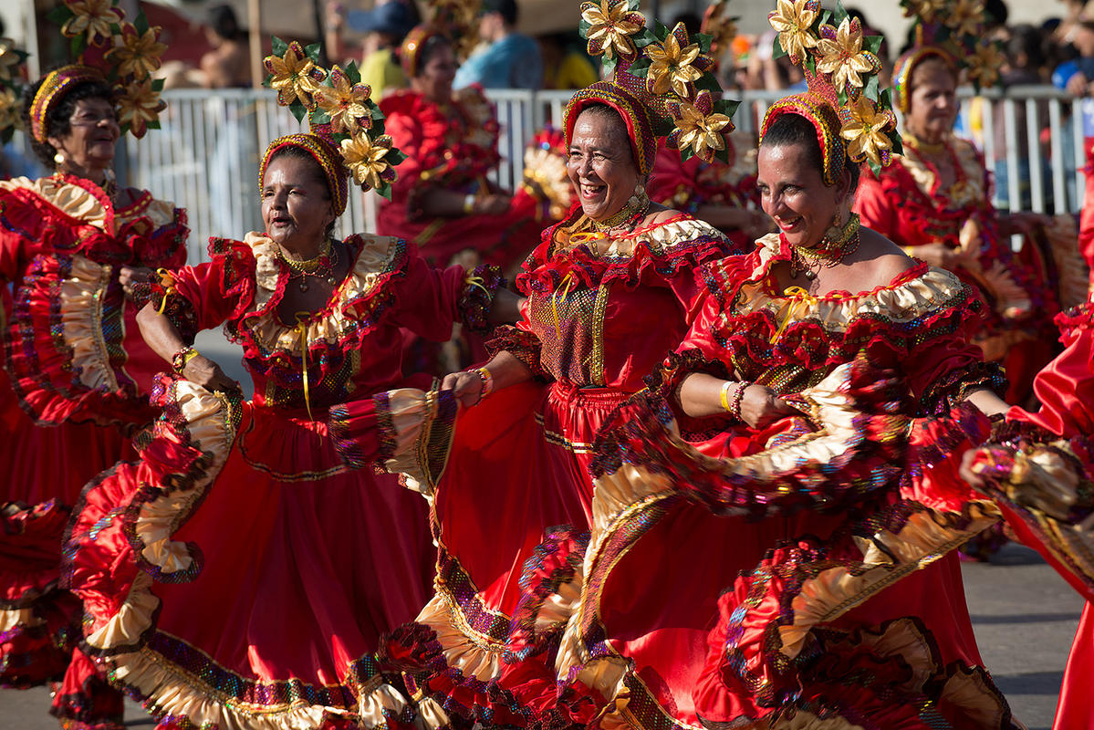 Carnaval, Barranquilla Photo by Louis Vest via Flickr Creative Commons