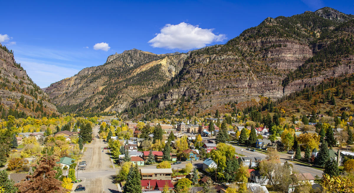Ouray Colorado Photo by Pherry and Pat Donaho via Flickr Creative Commons