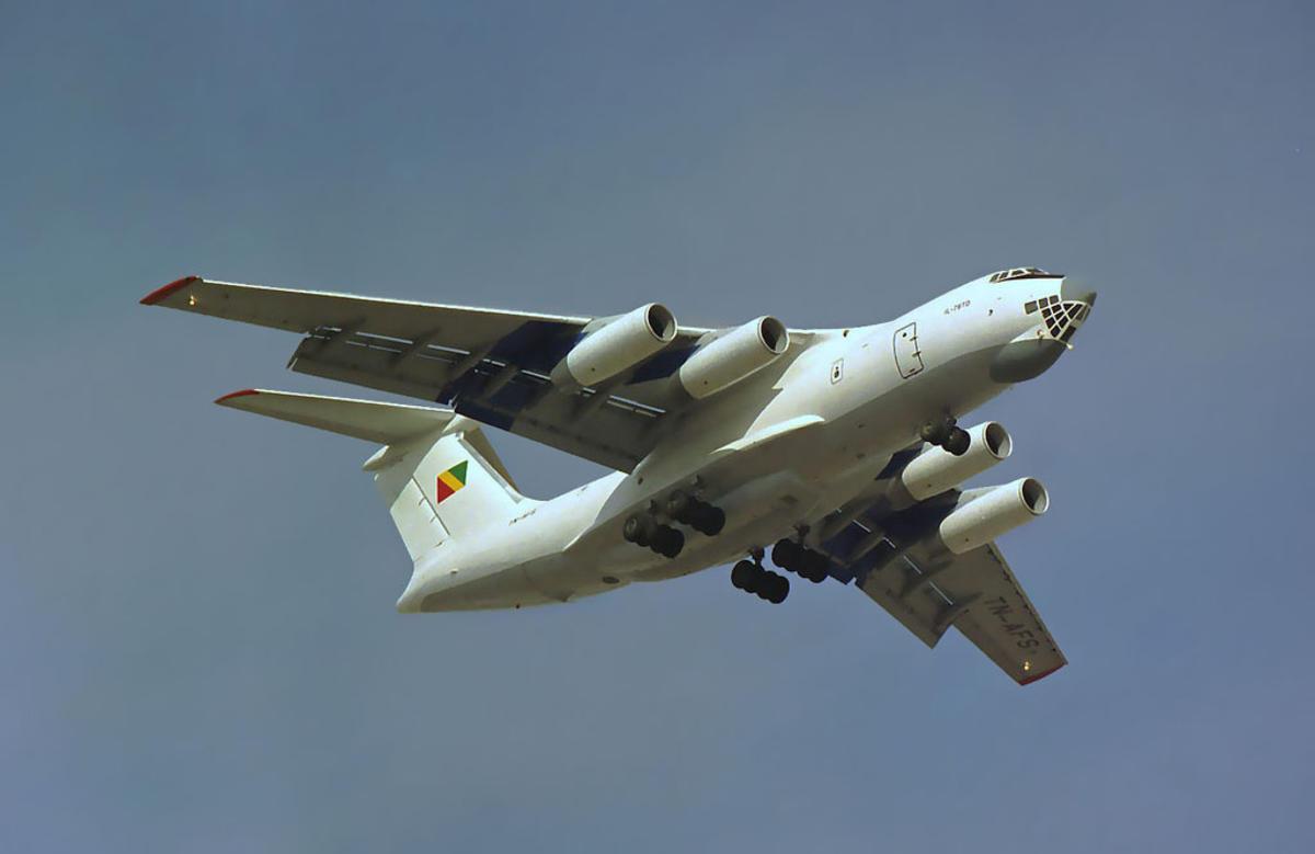 Congo Govt IL-76 TN-AFS Photo by Bob Adams via Flickr Creative Commons