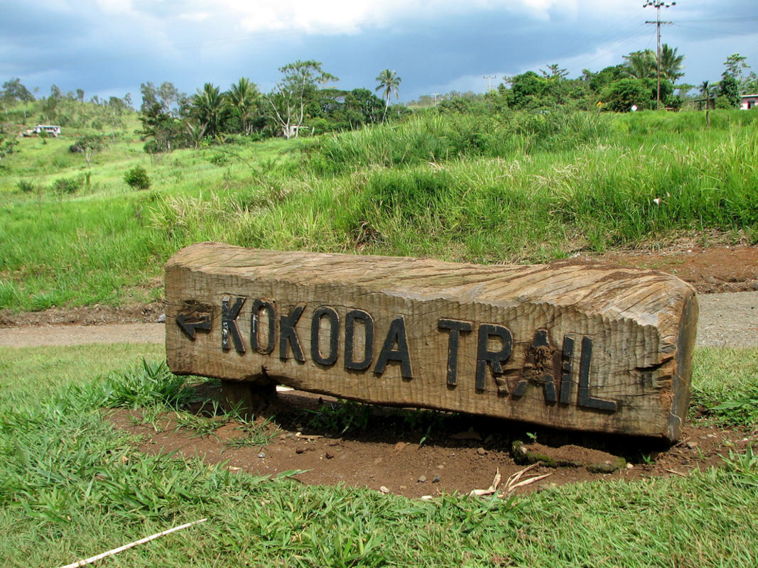 Kokoda Trail Sign by Drew Douglas via Flickr Creative Commons