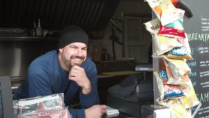 Ian Shulman, owner of All Fed Up, believes in food that is simple and clean.