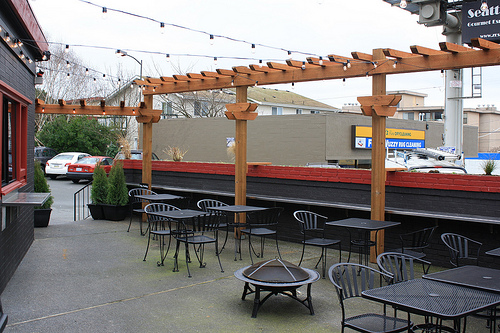 McGinnis plans to have outdoor seating in the summer.