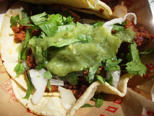 chorizo taco (credit: NYSF)