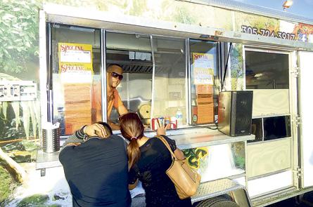 Geovanie Cordero, owner and chef of El Rincon Del Coqui food truck.
