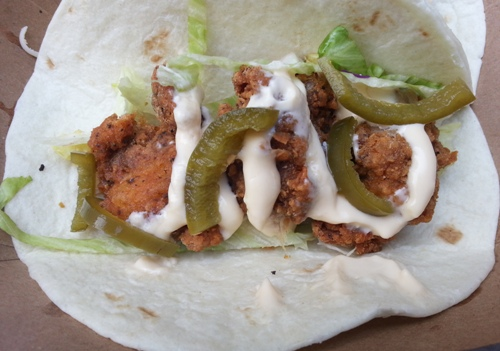 Fried Chicken Taco (credit: NYSF)