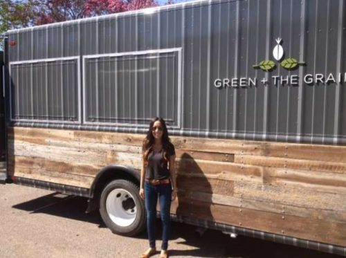 Green + The Grain food truck owner Tiffany Hauser.