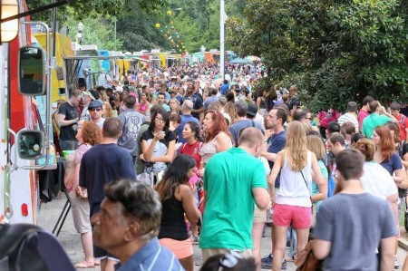 A scene from last year's Atlanta Street Food Festival. (Courtesy ASFF)