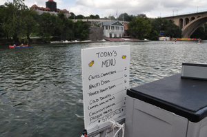 Nauti Foods sells ice cream sandwiches, hot dogs, chips, candy and locally made products. (WTOP/Rachel Nania)