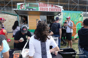 A queue follows this award winning food truck  wherever they are