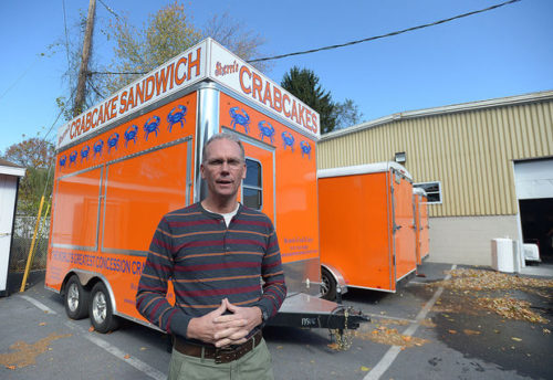 Keith Behney, owner of Sherri's Crab Cakes, Camp Hill, will rent out their kitchen and processing center to other food based companies that only need kitchen space for a short time frame.