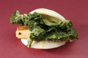 (Craig Lee / Special to The Chronicle) Chairman Bao's miso tofu steamed bun as seen in San Francisco, California, on March 9, 2011.