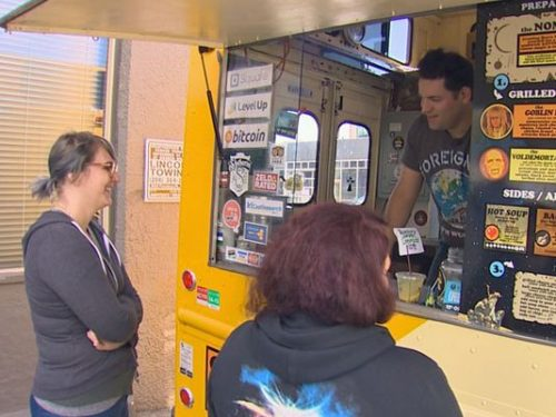 """Seattle first ever """"charity food truck"""" is rolling into town. (Photo: KING)"""