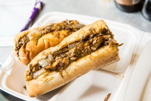 Maria S. Young The jerk chicken cheesesteak from Grubaholics.