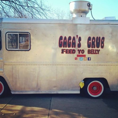 Gaga's Grub, a new pasta food truck, will make its Wichita debut tonight. Courtesy