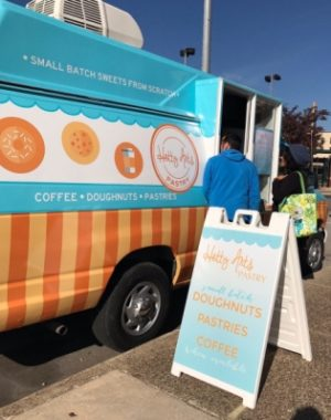 A new pastry and doughnut truck is ready to hit the road. It's called Hetty Arts Pastry. (Courtesy photo