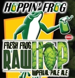 27043 hoppin frog fresh frog raw hop imperial pale ale