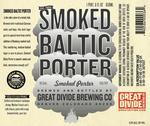 34302 great divide smoked baltic porter