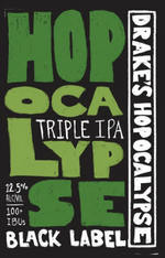 37313 drakes hopocalypse triple ipa  black label