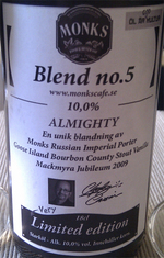 44733 monks caf  blend no  5 almighty