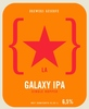 45802 lervig brewers reserve galaxy ipa single hopped