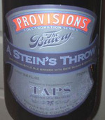 45910 the bruery taps provisions series  a stein s throw