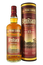 51787 benriach single malt pedro ximenez finish 15 years