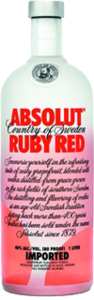 73 absolut ruby red
