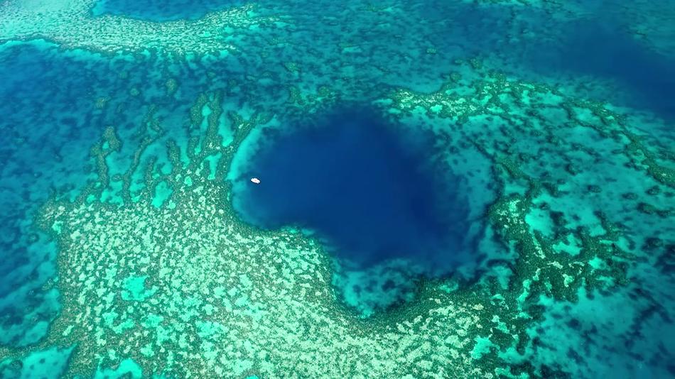 Buraco azul na Australia