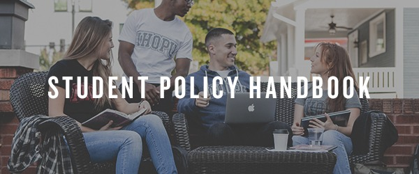 Student Policy Handbook