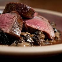venison and morel sauce