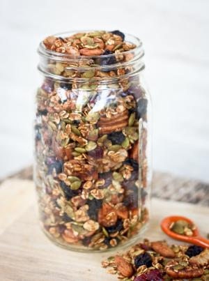 how to cook pumpkin seeds in the oven with cinnamon