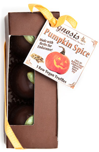 gnosis pumpkin truffle