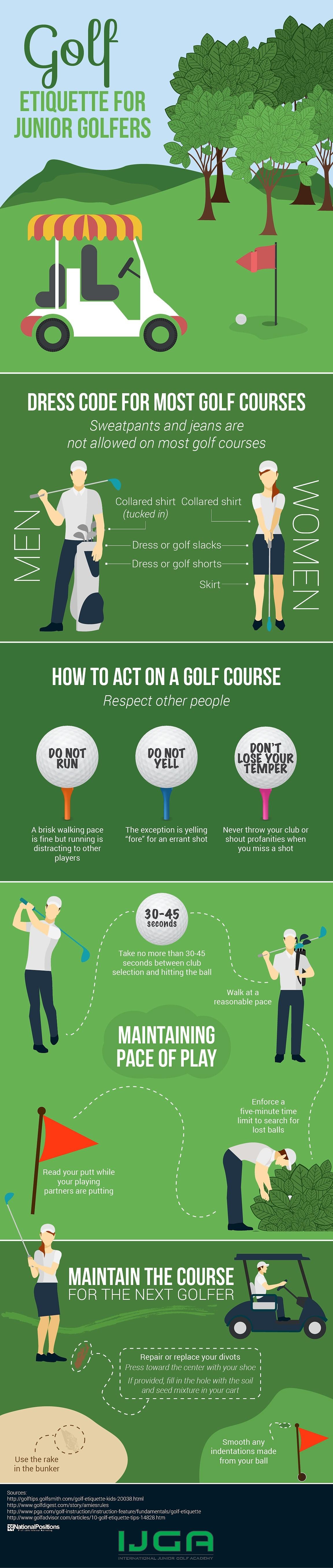 Golf Etiquette for Juniors