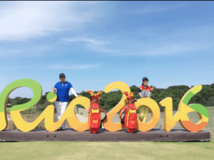 You can tell ShanShan is excited to be representing China in golf's return to the Olympics.