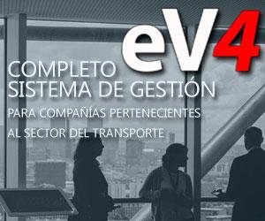 eV4 ES UN COMPLETO SISTEMA DE GESTIÓN PARA COMPAÑÍAS PERTENECIENTES AL SECTOR DEL TRANSPORTE.
