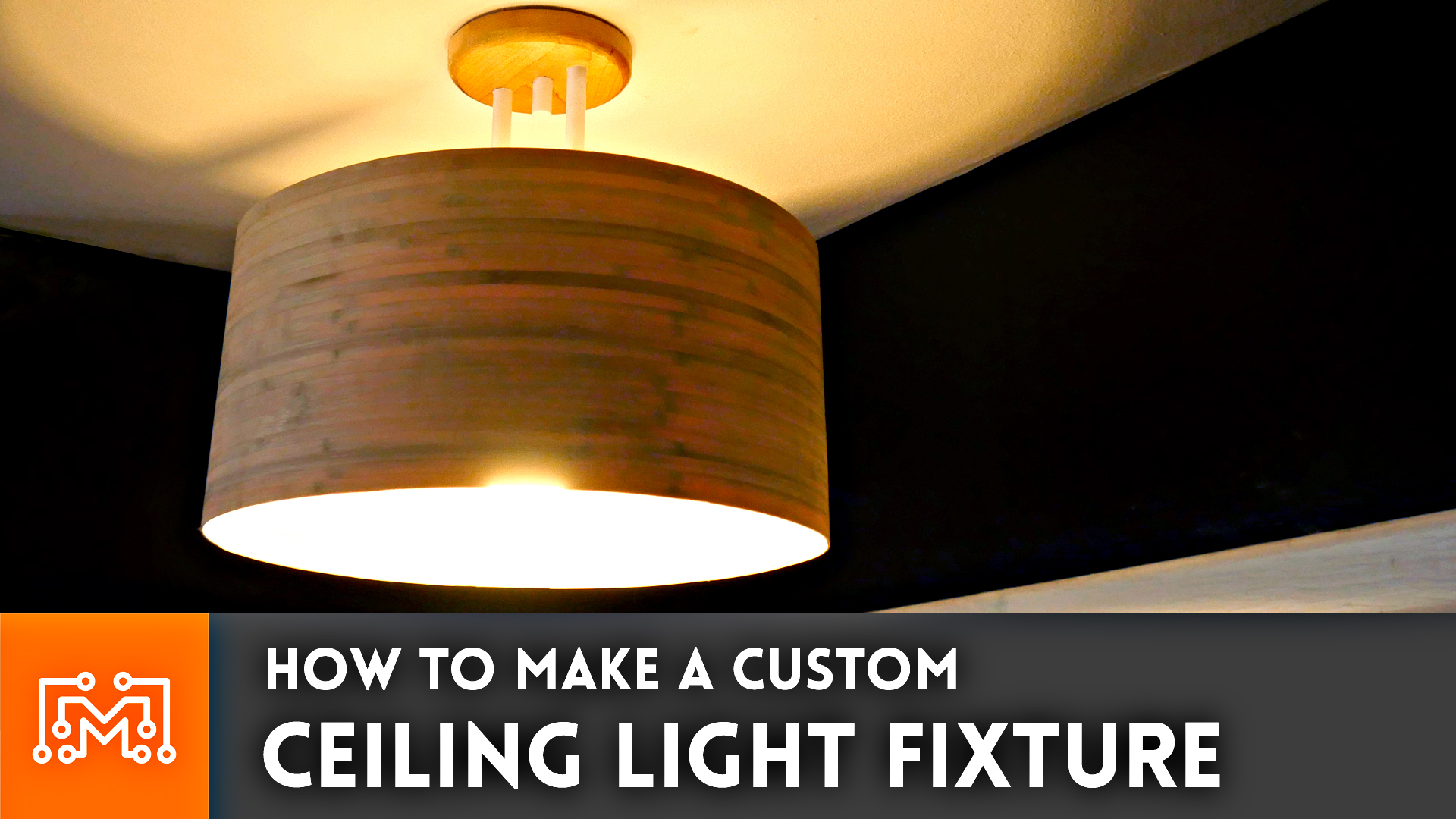 How to make a custom ceiling light fixture i like to for How to make your own light fixture