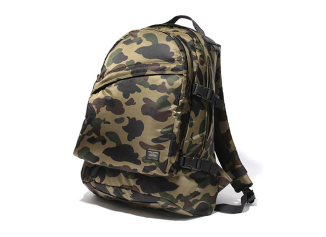 Illroots bape x porter camo bags for Bape x porter backpack