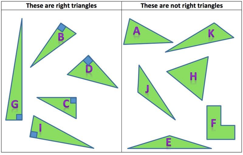 Right Angle Shapes : Illustrative mathematics