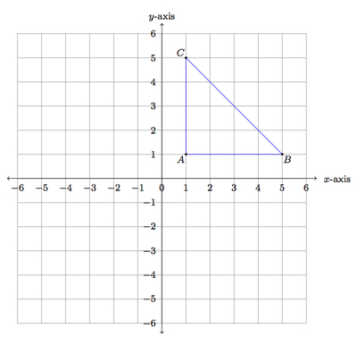 how to draw an isosceles triangle without a compass