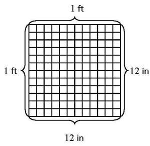 Illustrative mathematics for How to add square feet