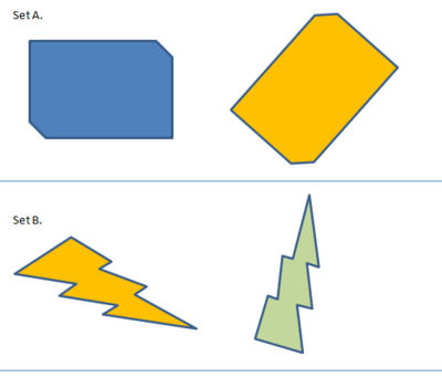 Matching Shapes Worksheet - Worksheet #2