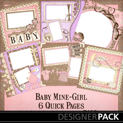 Baby_mine_girl_12x12_quick_pages