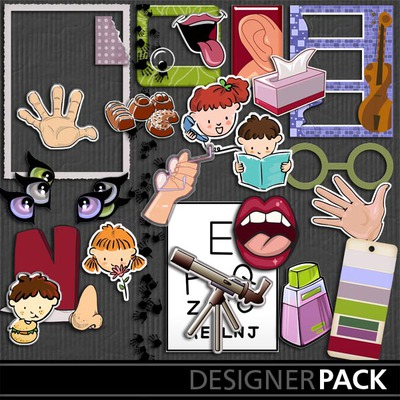 The_five_senses_pack_3