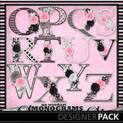 Glamour-n-glitz--decorated-monograms3